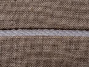 4мм. ШХ8-004-2 Шнур, D-4мм, х/б 100%, белый