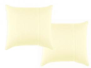 Набор наволочек трикотажных (2 шт.) 70*70 цв. молочный