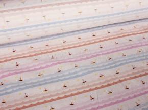 Ткань для постельного белья арт. 00603/620-1 рис. 9456/701, ширина 150см