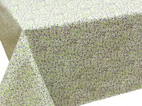 """Скатерть 3833-БЧ рисунок 4503-02 """"Цветочки"""" цвет зеленый 145*220"""