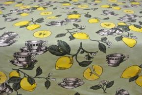 """ОБР 01877 Скатерть 150*150 """"Лимоны"""""""