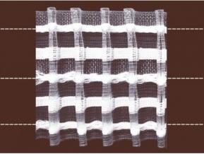 84мм. 04С3173ПЭ-Г50 ЛЕНТА ДЛЯ ШТОР белый 84мм, параллельная сборка (рул.50м)