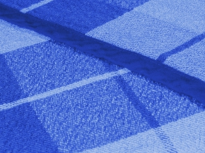 13с435-ШР/уп 220*200 плед рисунок 1 Клетка 3 синий