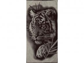 6с102.413ж1 Тигр на охоте Полотенце махровое 81х160см