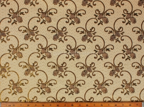 Гобелен ткань с люрексом 150см рис  B-71#