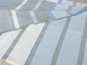 17с30-ШР/у 215*200  Пододеяльник Полоска цв.4 рис 3 голубой с серым