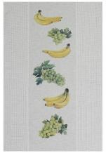 17с406-ШР 49*70 Полотенце Виноград-банан