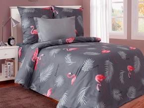 """4125-БЧ  Павлинка 2 спальный компл. """"Фламинго"""" рис. 5453-01"""