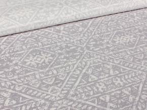 Ткань интерьерная 1419ЯК п/лен отб.наб. рис.1951/1 Орнамент винтаж, ширина 150 см