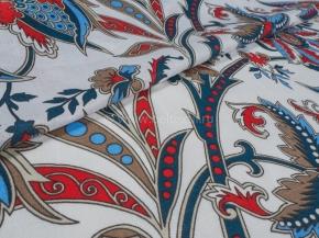 Ткань бельевая арт 175414 п/лен отб.набивной рис. Варвара, ширина 220см