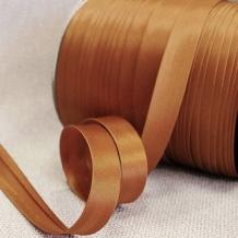 Косая бейка МН А 2129/1,5см (120м) коричневый