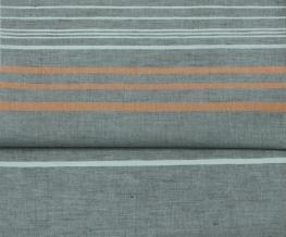 17с16-ШР 220*180 Простыня рис.9 цвет 1 серый с оранжевым