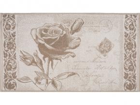 6с103.512ж2 Роза на конверте Полотенце махровое 50х90см