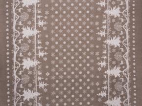 Ткань бельевая арт 175448 п/лен отб. набивной рис 4050/6 Сказочный лес, ширина 150см