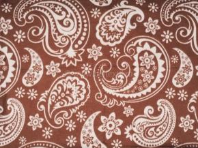 "Одеяло хлопковое 170*205 жаккард  1 ""Ярмарка"" цв.коричневый"