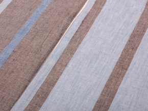 17с17-ШР Наволочка верхняя 70*70 цв 1 рис 3 серый с голубым