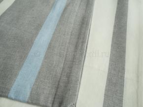17с56-ШР Наволочка верхняя 70*70 цв.1 рис15 серый с белым