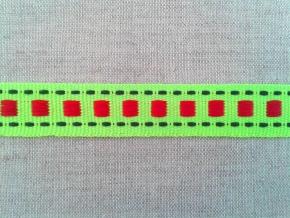 09С3564-Г50 ЛЕНТА ОТДЕЛОЧНАЯ яр.салатовый 15мм