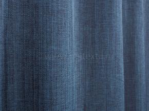 Ткань портьерная под лен T HH ZJM417-14/280 PL синий, ширина 280см