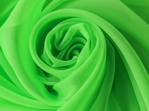 Вуаль однотонная T SH 58A/295 V цвет яркая зелень, ширина 295см