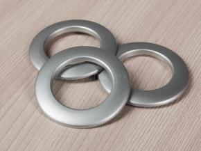 Люверсы AL 3, серебро d-35мм (уп.10шт)