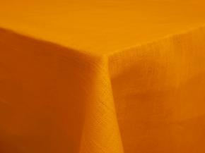 17С141-ШР Скатерть 100% лен 1363 цв желтый 143*120