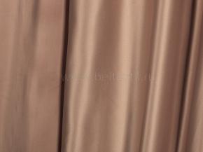 Ткань портьерная сатен T JL 384-118/280 PSat какао, ширина 280см