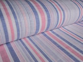 Ткань бельевая арт 175102 п/лен пестоткань Гиацинт нежный лиловый рис 5*51/3, ширина 220 см