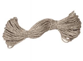 05С2326-Г50 ШНУР ОТДЕЛОЧНЫЙ серебро d2.5мм (рул.20м)