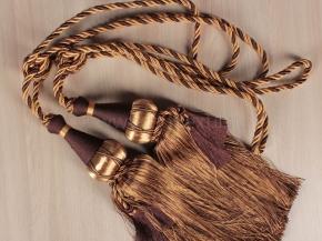 Кисти Ajur НК К5-79-05 коричневый/бежевый