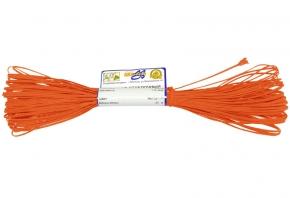 1С13-Г50 ШНУР ОТДЕЛОЧНЫЙ (сутаж) оранжевый*023, d-1.8мм (рул.20м)