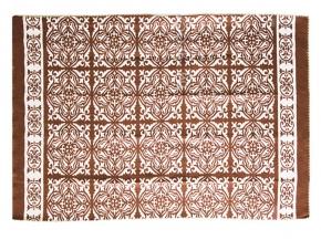 Одеяло хлопковое 170*205 жаккард 1/9 цвет коричневый