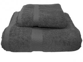 Полотенце махровое Amore Mio GX Classic 33*70 цвет серый