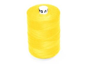 Нитки 45ЛЛ/2500м желтый 124 (1кор.*20б.) /уценка/