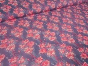 Ткань бельевая арт 175448 п/лен отб наб рис 18-74/1 Букет, ширина 150см