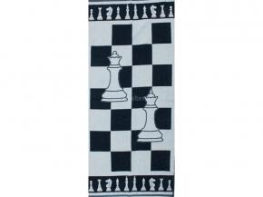 6с102.411ж1 Шахматы Полотенце махровое 67х150см