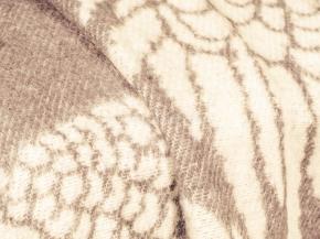 Плед хлопковый 170*200 жаккард 32.29 цвет бежевый