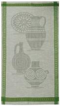 "10С193-ШР 50*90 полотенце ""Керамика-2"" зеленый"