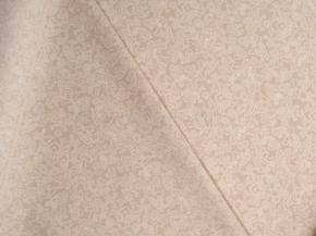 Ткань бельевая арт 7-17 п/лен рис. Узор белый, ширина 220см