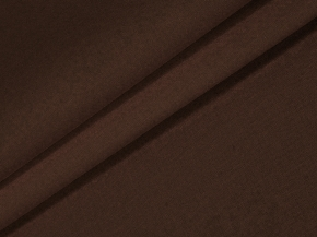 1495-БЧ (1030) Бязь гладкокрашеная цв.191420 горький шоколад, ширина 220см
