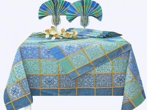16с412-ШР/уп 150*175  Комплект столовый Изразцы рис 48 цвет 5
