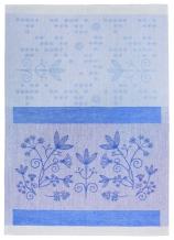 17с102-ШР 49*70 Полотенце Травы синий