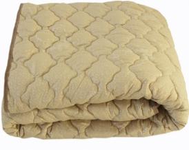 Одеяло овечья шерсть 300 гр Евро 200*220