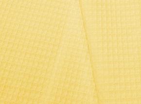 Полотенце вафельное 40*75 цвет желтый