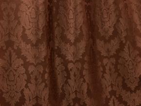 Жаккард Debute ZG L1221-09/150 коричневый, ширина 150см. Импорт