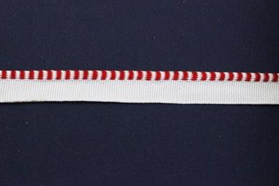 01С3011-Г50 ЛЕНТА ОТДЕЛОЧНАЯ 13мм/кант 3мм, белый с красным