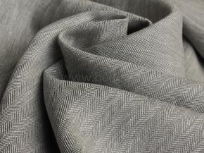 19С147-ШР+К+Х+У 2/1 Ткань костюмная, ширина 145см, лен-100%