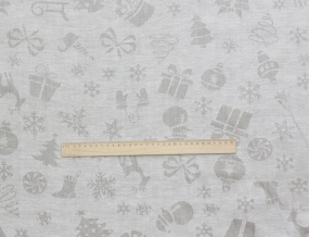 18С272-ШР+К 133/318 Ткань скатертная, ширина 160см, лен-72% хлопок-28%