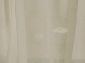 02С106-ШР+Х 330/0 Вуаль льняная, ширина 145 см, лен-53 хлопок-47