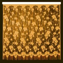 22С14-Г10 рис.2093 занавеска 250*250 цвет желтый